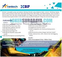Info Loker Surabaya di CV. Bentang Persada Group (Rantech) November 2019