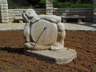 Sundial in Ramat Hanadiv Zichron Yaakov
