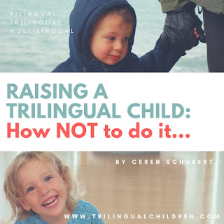 Raising a trilingual child: how not to do it