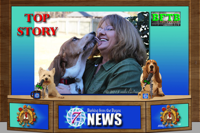 BFTB NETWoof News Top Story woman with dog on backscreen