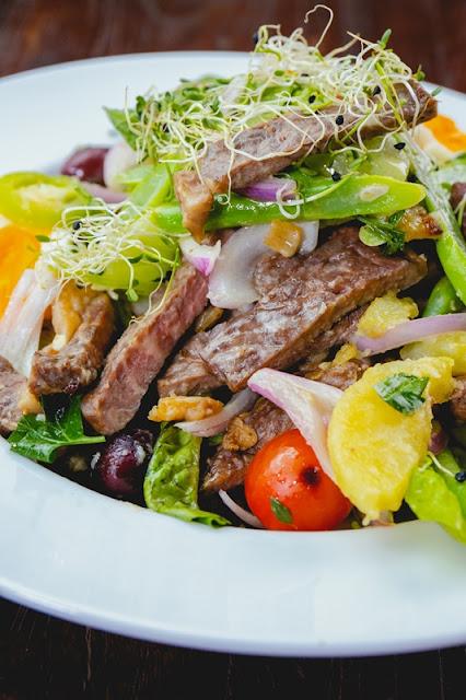 Airfried Steak Salad Nicoise Style