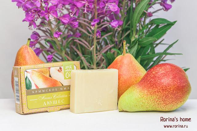 крымское мыло ФЛОРА nature cosmetic Aroma Collection Дюшес: отзыв