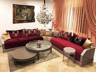 Des salons marocains dans presque toutes les couleurs !