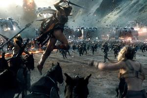 Batalla épica de superhéroes