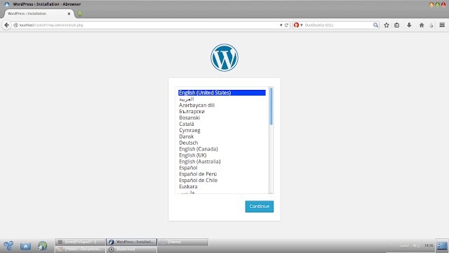 Cara mudah Install wordpress di Linux