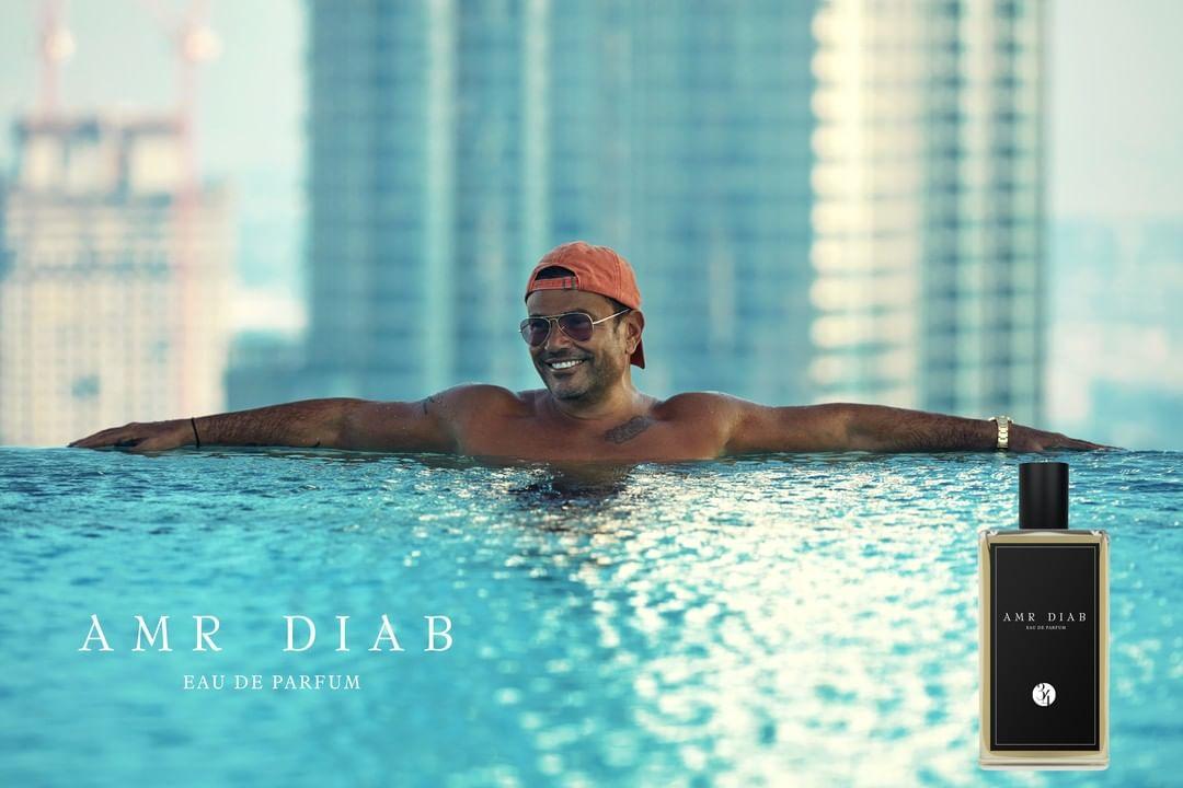 Megastar Amr Diab launches his own perfume