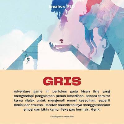 Game GRIS Peduli Dengan Kesehatan Mental