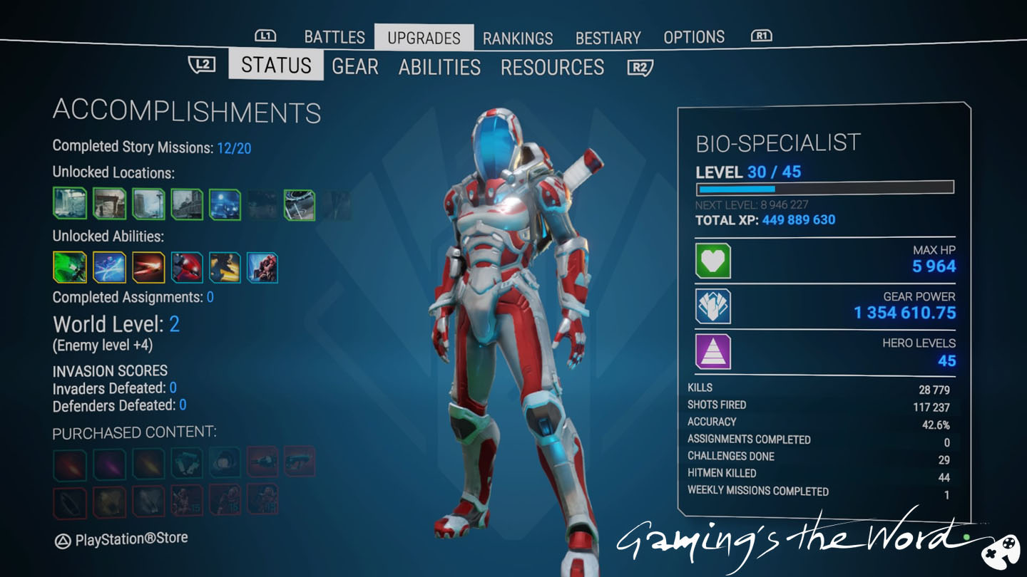 Gaming's the Word: Alienation PS4 Review: