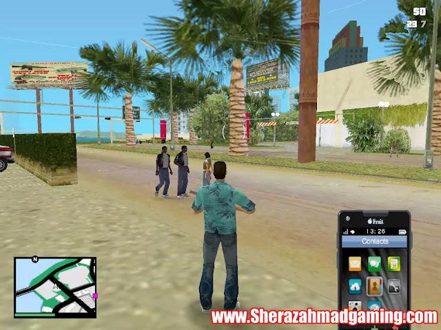 GTA Vice City GTA V HUD v3.2 Mod Download