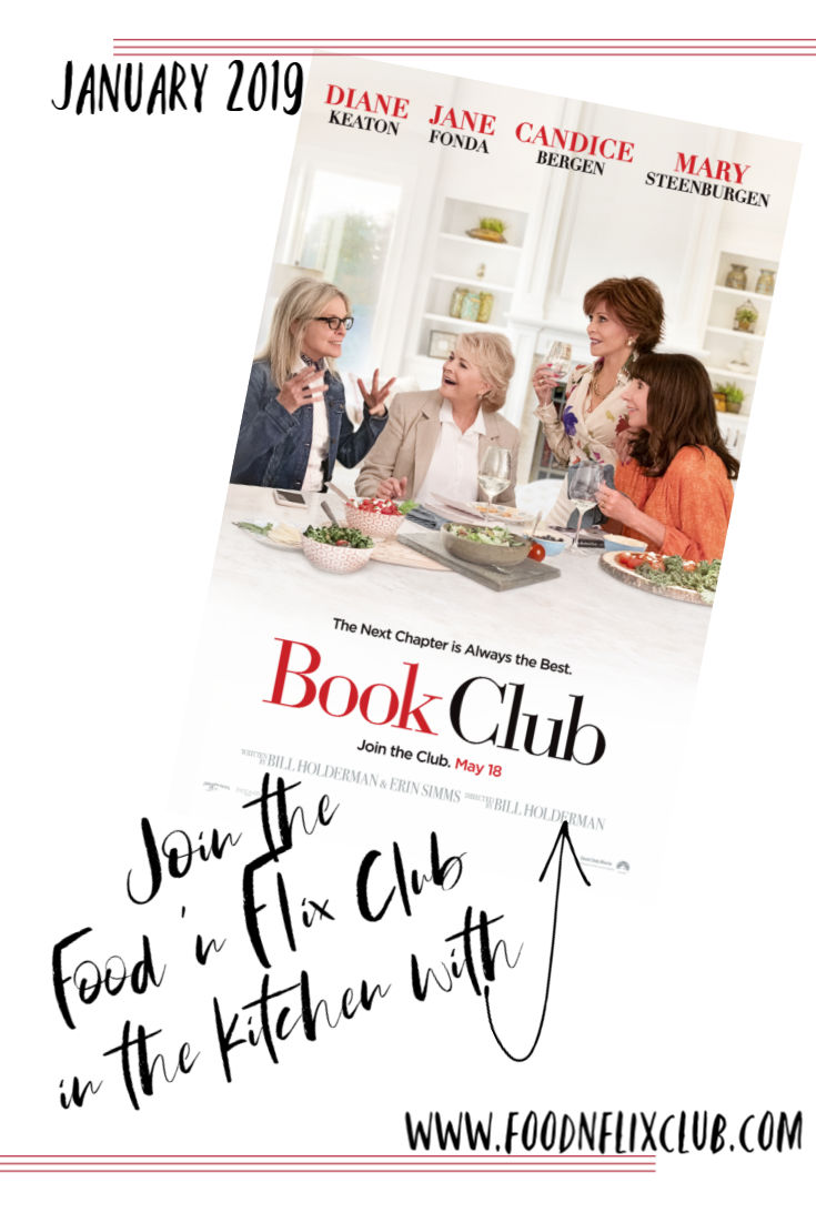 Book Club inspired recipes at #foodnflix