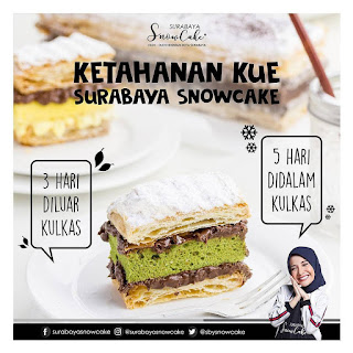 Review Snow Cake Surabaya