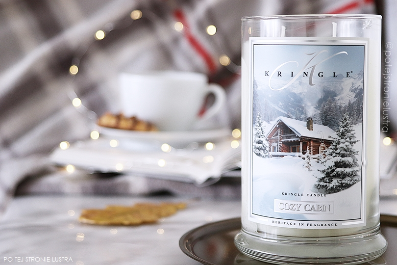 cozy cabin kringle candle