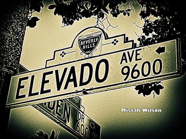 Elevado Avenue, Beverly Hills, California by Mistah Wilson