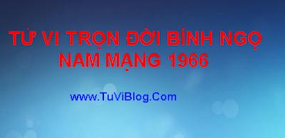 XEM TU VI BINH NGO 1966