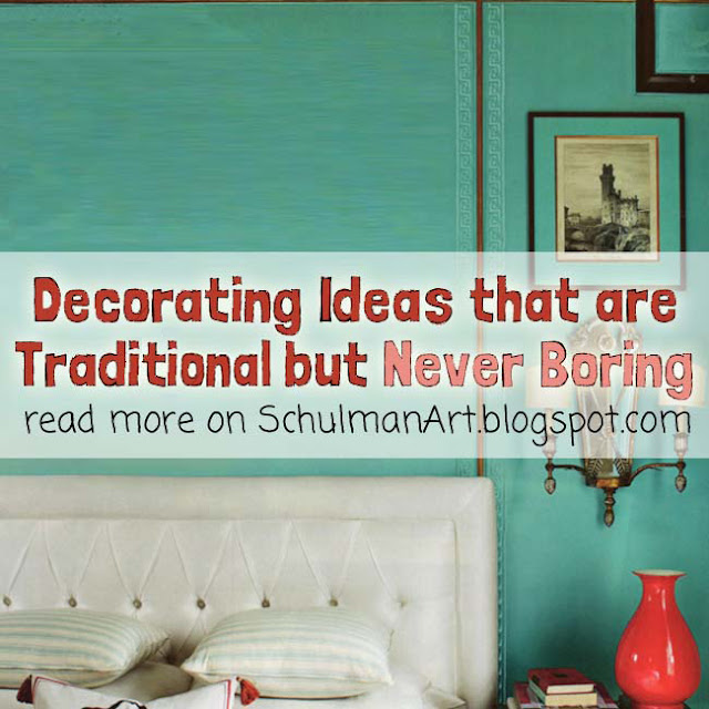 traditinal peacock home decor | decorating ideas that are never traditional | read more >> http://schulmanart.blogspot.com/2013/04/decorating-ideas-that-are-traditional.html