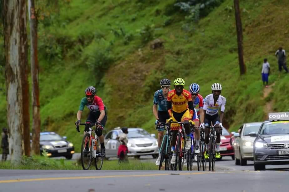 طواف رواندا لدراجات : لعقاب عز الدين في المركز 36 في المرحلة الخامسة