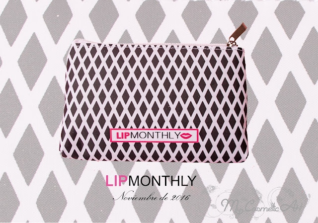 Lip Monthly de Noviembre de 2016