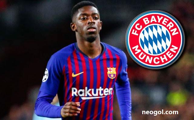 Ousmane Dembélé prioridad para el Bayern