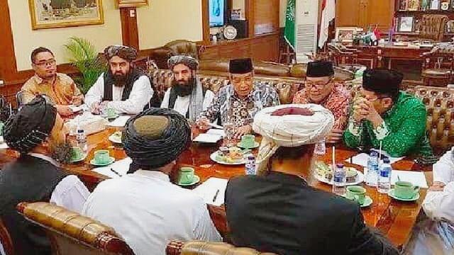 Terungkap! Selain JK Ternyata NU juga Temui Taliban, Buktinya Jelas: Kok Emoh Mengakui?