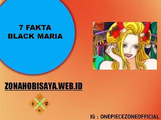 Tobi Roppo Member, 7 Fakta Black Maria