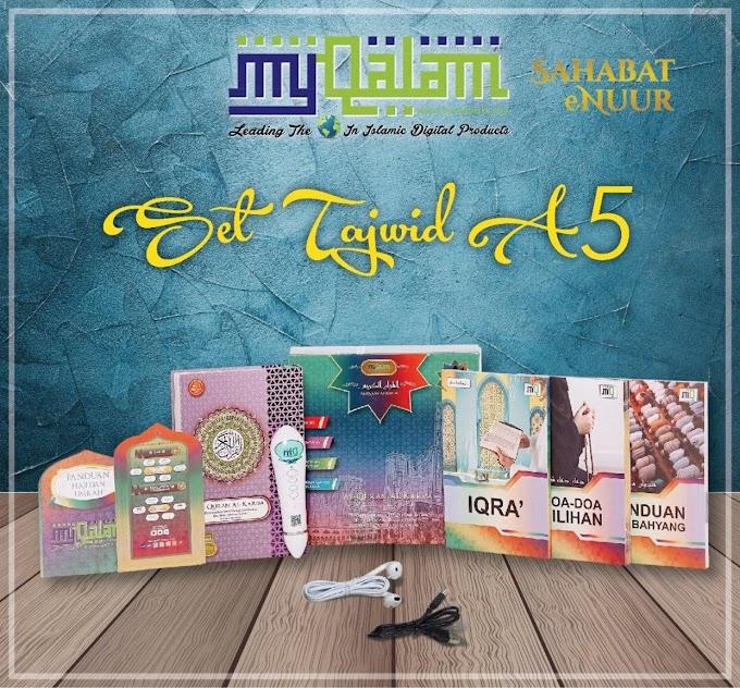 Al Quran Digital My Qalam A5 Tajwid
