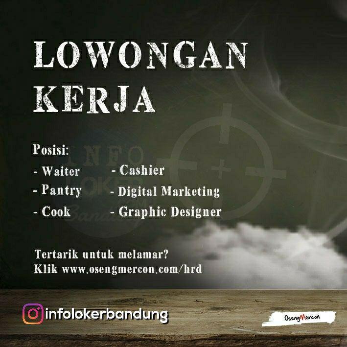 Lowongan Kerja Oseng Mercon Bandung Juli 2018