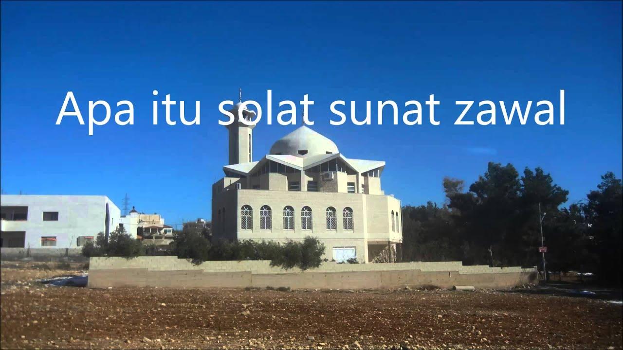 Panduan dan Tata Cara serta Niat Sholat Sunnah Zawwal (Setelah Matahari Tergelincir) Lengkap Arab Latin dan Artinya