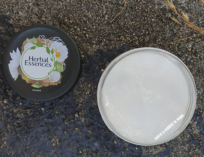 Mascarilla Real Botanicals de Herbal Essence - Reparadora de Leche de Coco