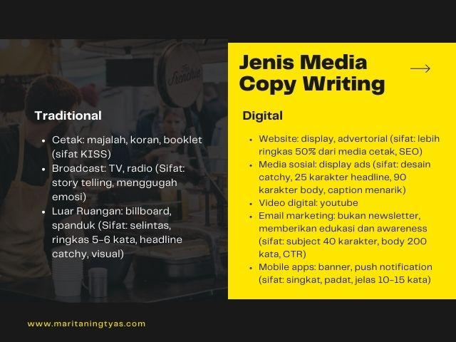 media copywriting
