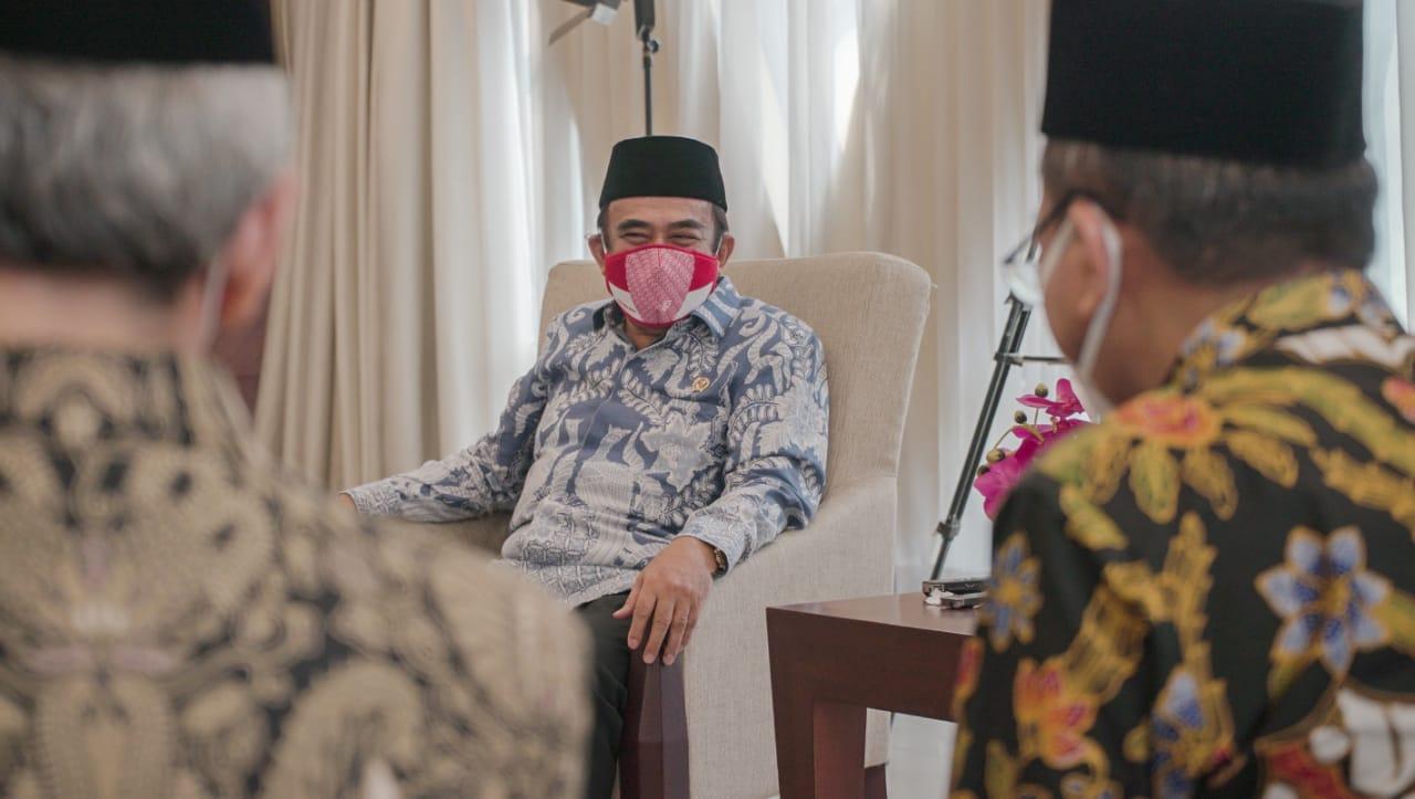 Kemenag Fachrul Razi.:  Moderasi Dalam Kehidupan Beragama Sangat Diperlukan Agar Tercipta Indonesia Yang Kondusif Dan Maju.