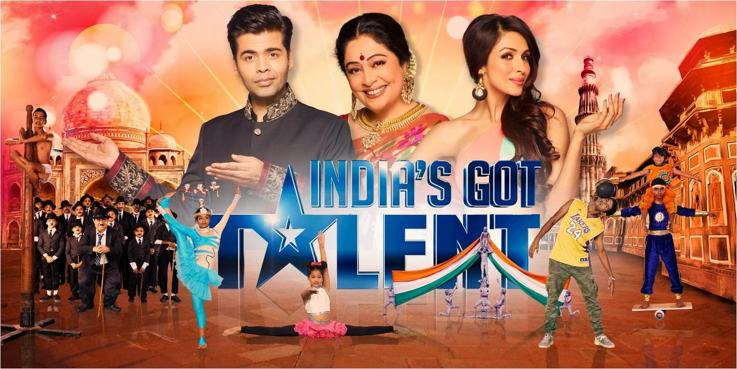 Karan Johar, Kiran Kher, Malaika Arora Khan and top 10 contestants of India's Got Talent reality show