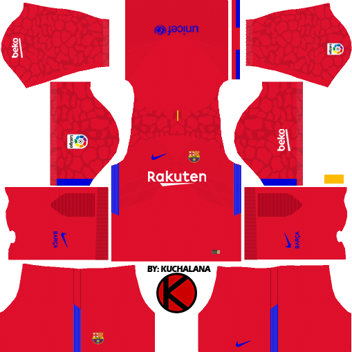 barcelona nike kits 2017 2018 dream league soccer kuchalana