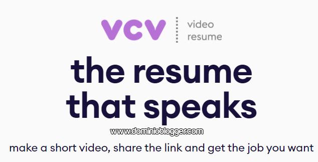 Curriculum vitae VCV