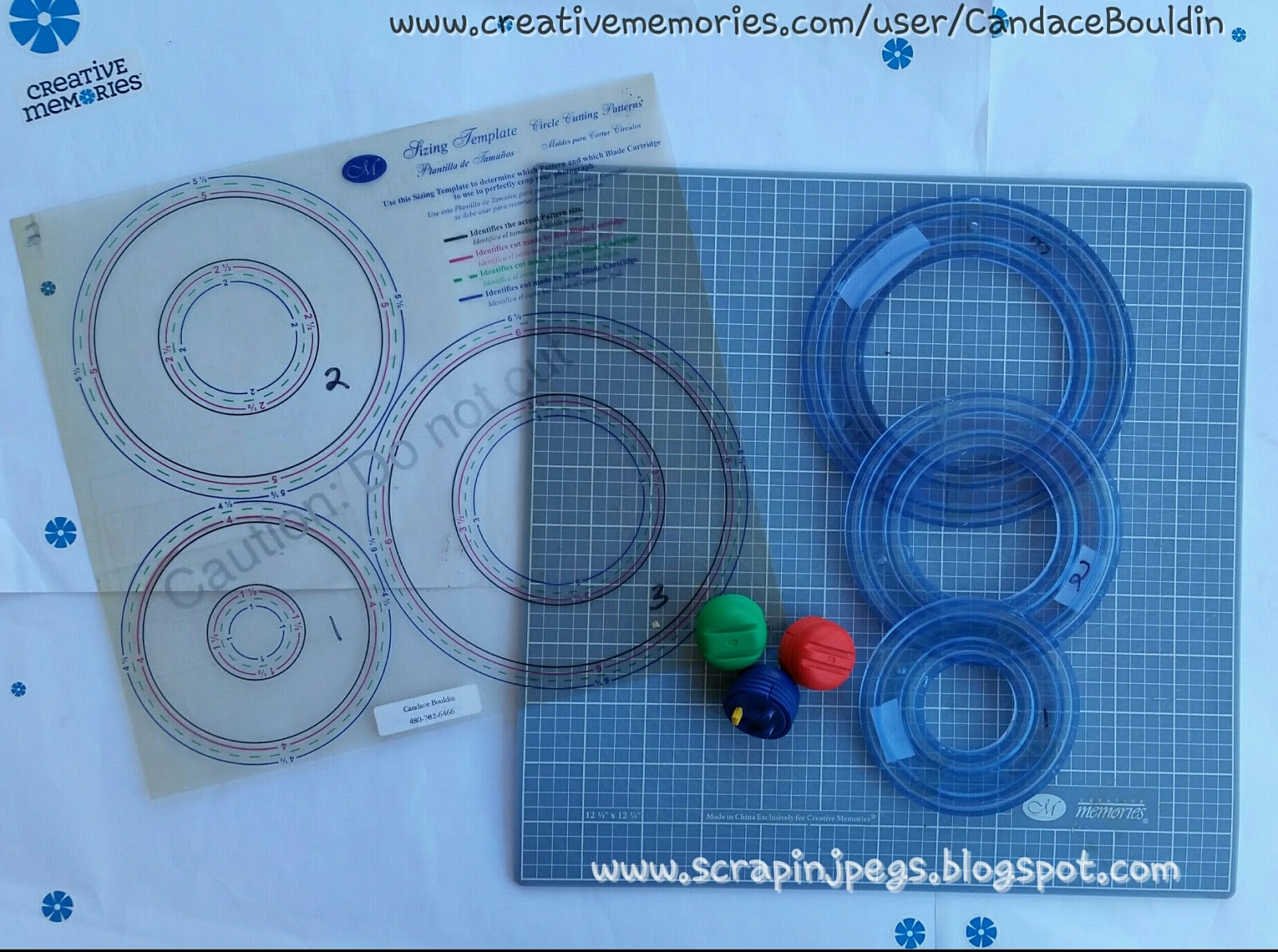 Scrappin Jpegs Creative Memories Custom Cutting System Circles And