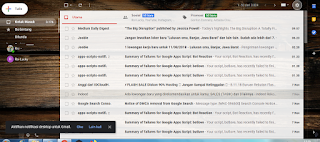 7 langkah unutk merubah tampilan google mail