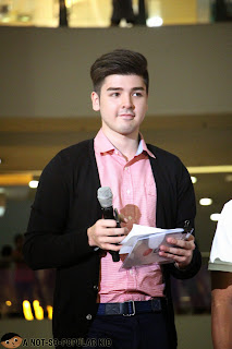 Andre Paras in LG Product Launch