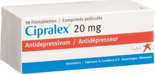 سيبرالكس Cipralex لعلاج الأكتئاب