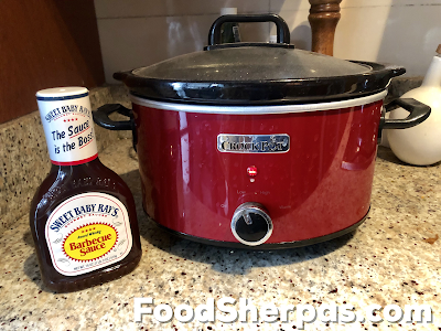 Sweet Baby Rays Slow Cooker Ribs