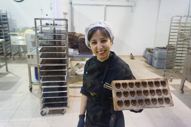 מפעל שוקולד  קרינה