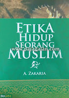 Buku Etika Hidup Seorang Muslim Aceng Zakaria