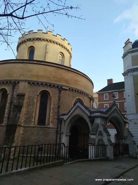 visitar la Iglesia del Temple en Londres
