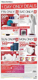 Home Outfitters flyer November 24 – 30, 2017 Black Friday