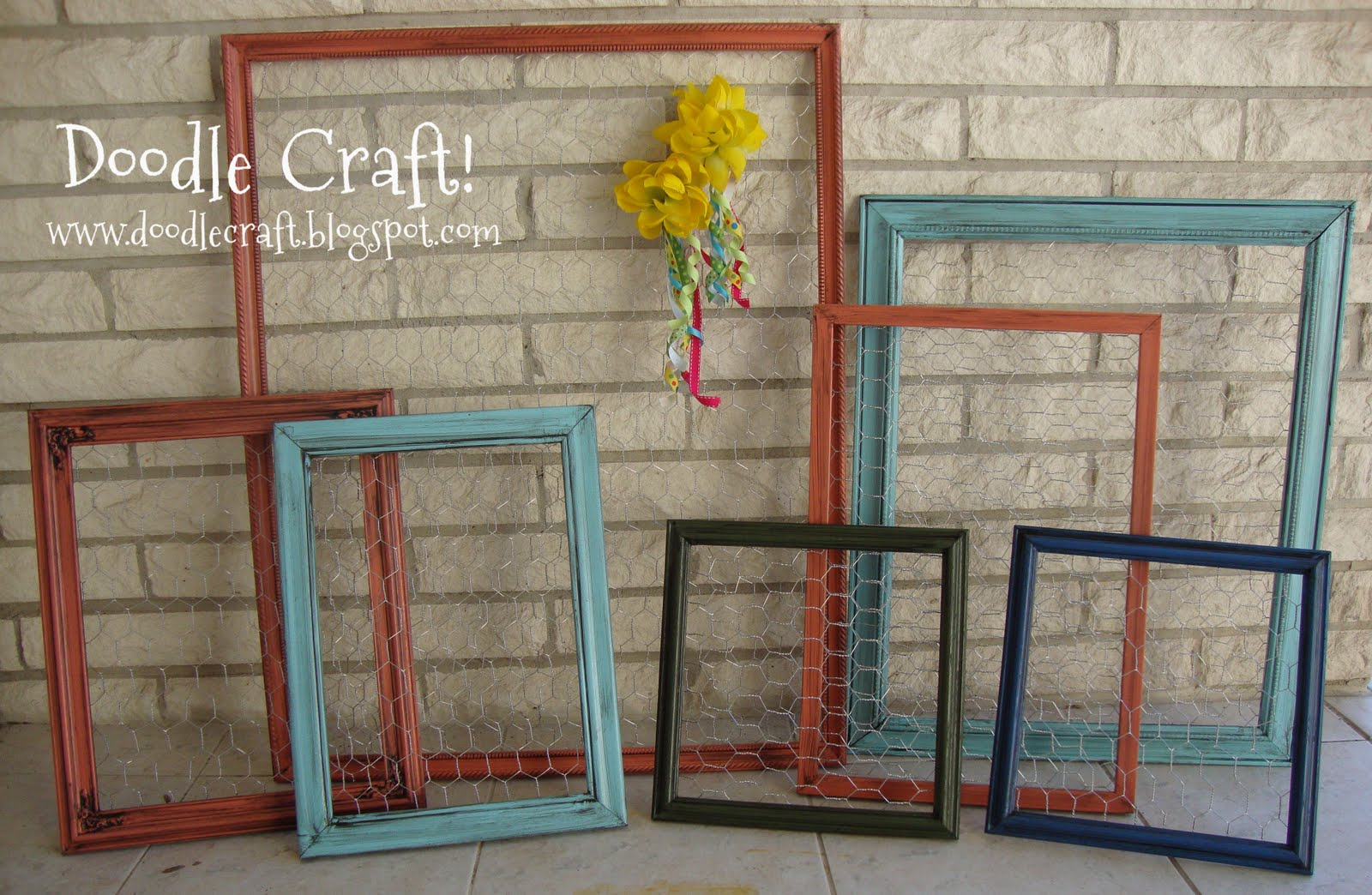 Contemporary Chicken Wire Photo Frame Pictures - Picture Frame Ideas ...