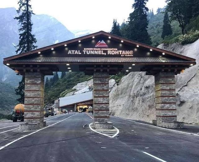 Atal Tunnel Kullu Manali(Himachal Pradesh)