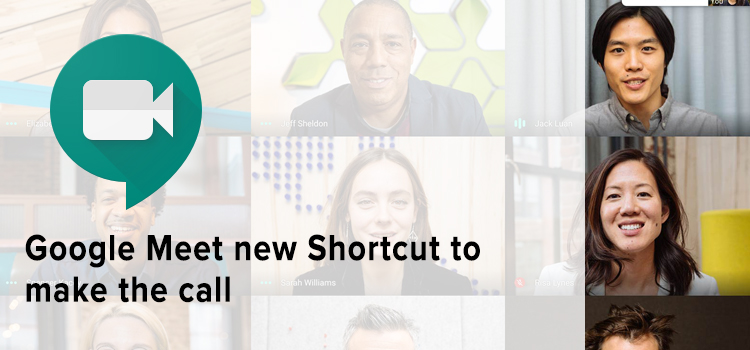 Google Meet Browser Shortcut