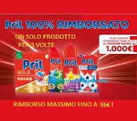 Promozione Pril 100% rimborsato (cashback per 3 volte fino a un massimo di 35€)