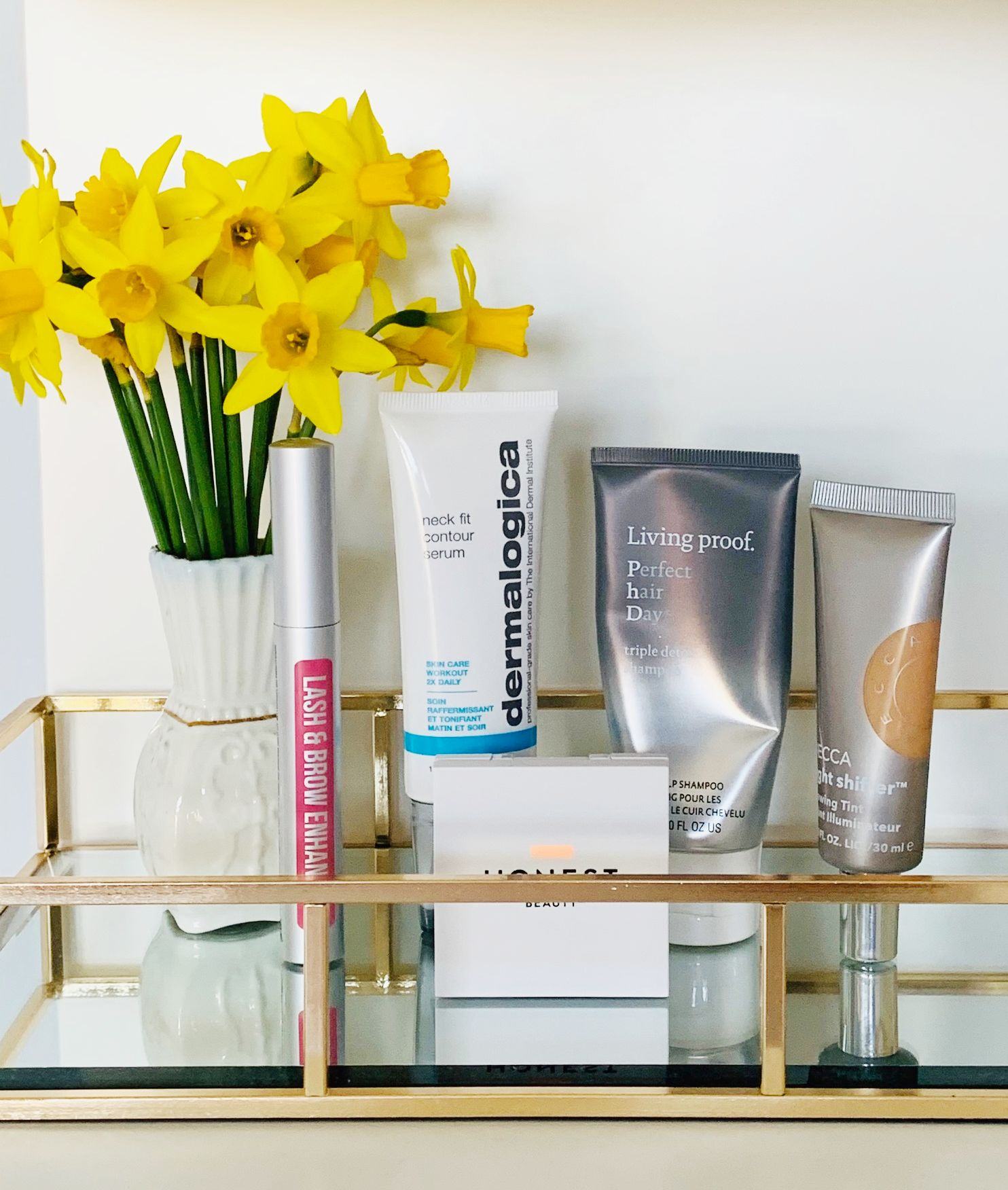 What I've loved in February, Honest Beauty review, Hairburst Brow Serum Review