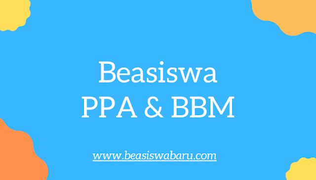 beasiswa ppa dan bbm