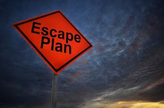 Escape Plan Sign