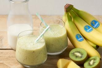 Smoothie de kiwi si banana pentru pierdere in greutate